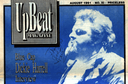 Upbeat autographed by Dickie Harrell