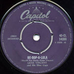 Capitol 45rpm label design 1958 onwards