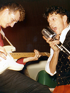 Jonny Meeks with Gene Vincent