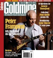Goldmine magazine 27 October 2006