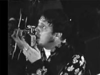 Gene Vincent performing on French regional TV 1969