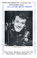 March 1964 concert programme - courtesy of John Braley