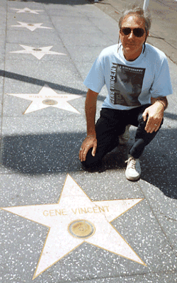 Gene Vincent's Hollywood Star