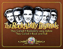 The Rockabilly Legends book cover