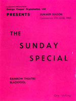 1965 Blackpool Summer Season programme