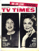 TV Times cover week beginning 15 March 1964