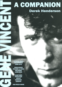 cover of GENE VINCENT A Companion